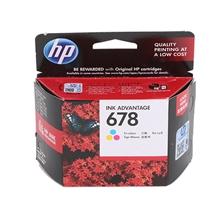 รูปภาพของ ตลับหมึกอิงค์เจ็ท HP678 (CZ108AA) 3สี