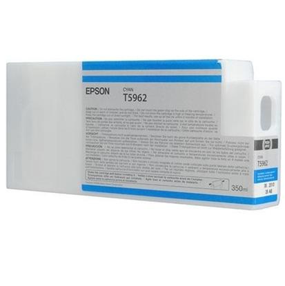 รูปภาพของ ตลับหมึกอิงค์เจ็ท Inkjet Cartridge เอปสัน T596200 ฟ้า