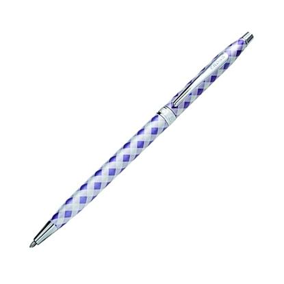 รูปภาพของ ปากกาลูกลื่น Cross Gingham BP#AT0082-68 Purple