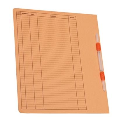 รูปภาพของ แฟ้มเจาะ ออร์ก้า FLA-101 A4 ส้ม (1X10)