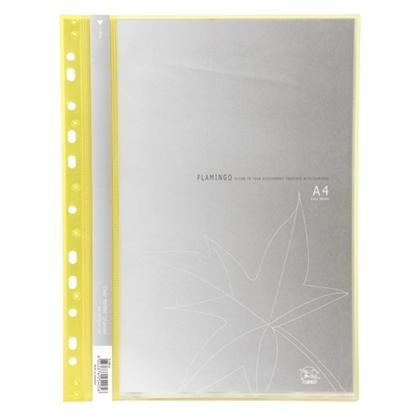 รูปภาพของ แฟ้มโชว์เอกสารฟลามิงโก้9083A-10 A4เหลือง