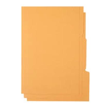 รูปภาพของ แฟ้มพับ 3 หยัก ใบโพธิ์  F/C ส้ม (1X3)