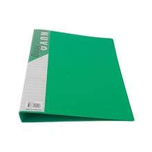 รูปภาพของ แฟ้ม 2 ห่วง ฟลามิงโก้ 901 A4 24x32 ซม. สัน 3.4 ซม. สีเขียว