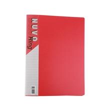 รูปภาพของ แฟ้ม 2 ห่วง ฟลามิงโก้ 901 A4 24x32 ซม. สัน 3.4 ซม. สีแดง