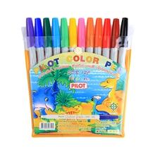 รูปภาพของ ปากกาเมจิก ไพล็อต SDR-200 ชุด 12 สี