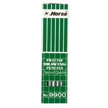 รูปภาพของ ดินสอเขียนแบบ ตราม้า H-9900 H(1X12)