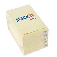 """รูปภาพของ กระดาษโน้ต สติก เอ็น พาสเทล 21006 3x2"""" สีเหลือง (แพ็ค 5 เล่ม)"""
