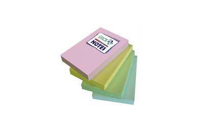 """รูปภาพของ กระดาษโน้ต สติก เอ็น พาสเทล 3x2"""" คละสี (แพ็ค 5 เล่ม)"""