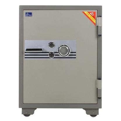 รูปภาพของ ตู้เซฟนิรภัย เอเพ็กซ์ SP-100SKK รหัสหมุน ขนาดกลาง สีเทา