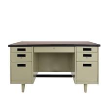 รูปภาพของ โต๊ะทำงานเหล็ก เอเพ็กซ์ANT-2654สีเทา137.2x66x75ซม.