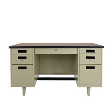 รูปภาพของ โต๊ะทำงานเหล็ก เอเพ็กซ์ANT-3472สีเทา182.9x86.4x75ซม.