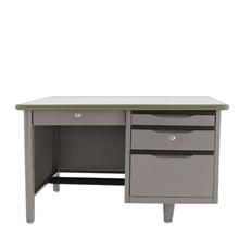 รูปภาพของ โต๊ะทำงานเหล็ก เอเพ็กซ์ATC-2436สีเทา91.4x61x75ซม.