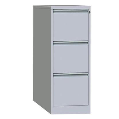 รูปภาพของ ตู้ลิ้นชักเหล็กเก็บแฟ้มแขวน 3 ชั้น SPACE PRO HDK-F03 เทาขาว
