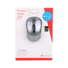 รูปภาพของ Microsoft Wireless Mobile Mouse3500 BlueTrack Graphite  Gray(MCS-GMF-00006)
