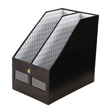 รูปภาพของ กล่องเอกสารแลคซีน วินด์เซิฟ 2 ช่อง BF-08  สีดำ