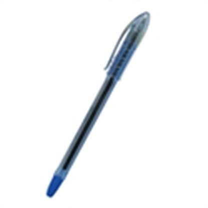 รูปภาพของ ปากกาลูกลื่น จีซอฟท์ ฟิช101 0.38 มม. สีน้ำเงิน (กล่อง 12 ด้าม)