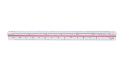 รูปภาพของ ไม้บรรทัดสเกลสามเหลี่ยม ฟลามิงโก้ 15 ซม.