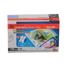 รูปภาพของ พลาสติกเคลือบบัตร ตราช้าง 125 ไมครอน 60x90 มม.(กล่อง 100 แผ่น)