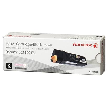 รูปภาพของ ตลับหมึกโทนเนอร์ FujiXerox CT201260 ดำ