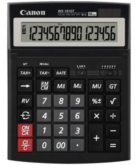 รูปภาพของ เครื่องคิดเลข แคนนอน WS-1610T 16 หลัก