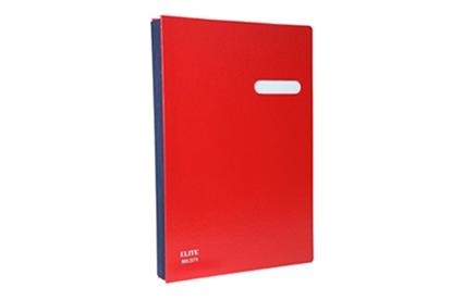 รูปภาพของ สมุดเสนอเซ็นต์ ELITE 571 สีแดง