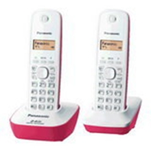 รูปภาพของ โทรศัพท์ไร้สายพานาโซนิค KX-TG3412BX สีชมพู