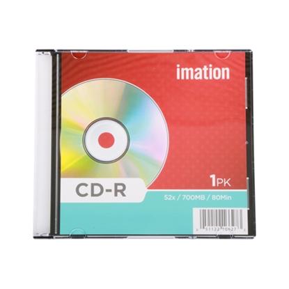รูปภาพของ แผ่น CD-R อิมเมชั่น 700MB 52X (1 แผ่น)