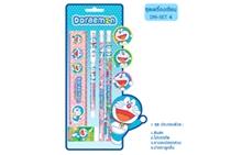 รูปภาพของ ชุดรวมเครื่องเขียน Doraemon DM-Set-4