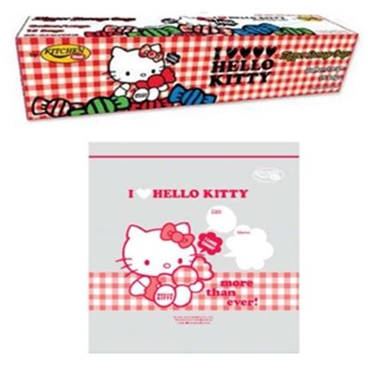 รูปภาพของ ถุงซิป Kitty2013 L15 Size 26.8x27.9 cm.