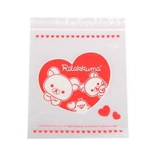 รูปภาพของ ถุงซิป RILAKKUMA HEART 15 Size 17.8 cm x 20.3 cm