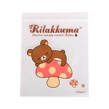 รูปภาพของ ถุงซิป RILAKKUMA YELLOW 12 Size 17.8 cm x 20.3 cm