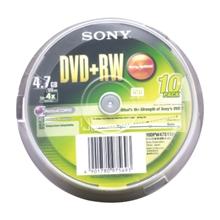 รูปภาพของ แผ่น DVD+RW Sony 4.7GB (1x1)