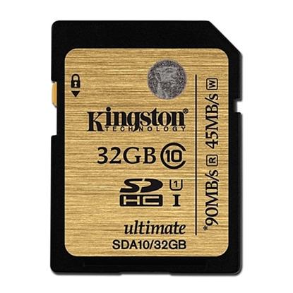 รูปภาพของ Kingston Micro SDHC Ultimate Class10 Memory Card 32GB