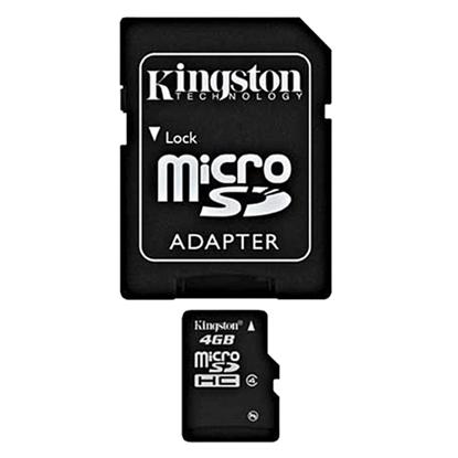 รูปภาพของ Kingston Micro SDHC Class4 Memory Card 4GB