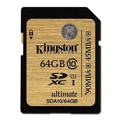 รูปภาพของ Kingston Micro SDHC Ultimate Class10 Memory Card 64GB