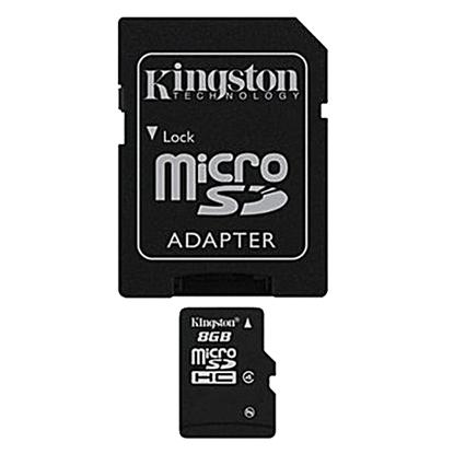 รูปภาพของ Kingston Micro SDHC Class4 Memory Card 8GB