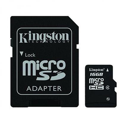 รูปภาพของ Kingston MicroSDHC Class4 MemoryCard 16GB