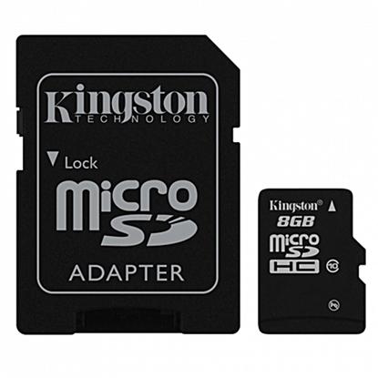 รูปภาพของ Kingston MicroSDHC Class10 MemoryCard 8GB