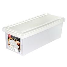 รูปภาพของ กล่องใส่ CD สีขาว 1x3ชิ้น (บรรจุได้ 38 แผ่น) 17.5x45x15cm. JCJ2516