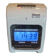 รูปภาพของ นาฬิกาตอกบัตร TIMETECH รุ่น KL-5500 (แถมแผงเสียบบัตร 50 ช่อง 1 แผง  บัตรตอก 300 ใบ)