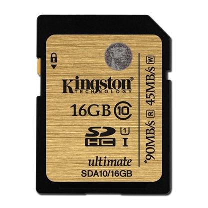รูปภาพของ Kingston Micro SDHC Ultimate Class10 Memory Card 16GB