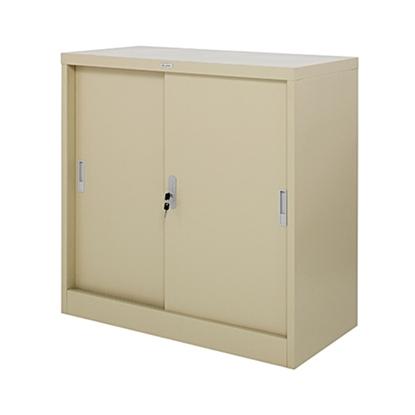 รูปภาพของ ตู้เตี้ยบานเลื่อนทึบ Zingular รุ่น ZDO-314 สีครีม