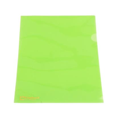 รูปภาพของ แฟ้มซอง ตราช้าง 405 A4 พลาสติก สีเขียว  (แพ็ค 12 เล่ม)