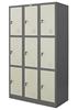 รูปภาพของ ตู้ล็อคเกอร์ 9 ช่อง Zingular รุ่น ZLK-6109 สีเทาสลับ