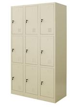 รูปภาพของ ตู้ล็อคเกอร์ 9 ช่อง Zingular รุ่น ZLK-6109 สีครีม