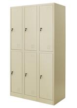 รูปภาพของ ตู้ล็อคเกอร์ 6 ช่อง Zingular รุ่น ZLK-6106 สีครีม