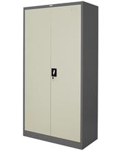รูปภาพของ ตู้สูงทึบบานเปิดมือจับฝัง Zingular รุ่น ZSH-756 สีเทาสลับ