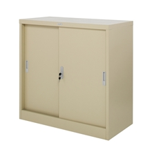 รูปภาพของ ตู้เหล็กบานเลื่อน 3 ฟุต Zingular รุ่น ZDO-313 สีครีม