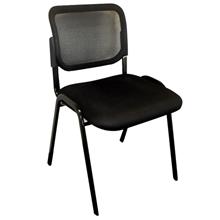 รูปภาพของ เก้าอี้พักคอย EMMA รุ่น ZR-1005 สีดำ