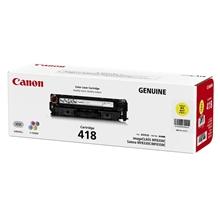 รูปภาพของ ตลับหมึกโทนเนอร์ Canon Cartridge-418Y เหลือง